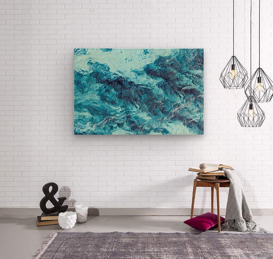 Tropical XXI  Wood print