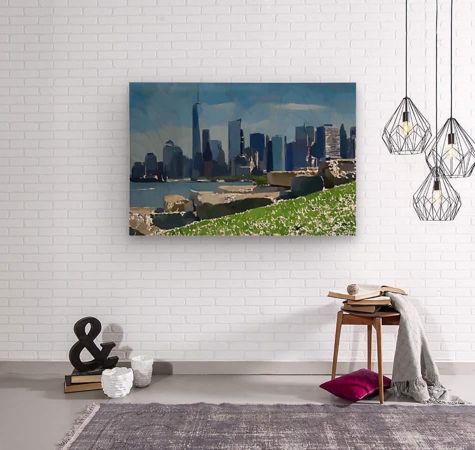 NEW YORK_View  031  Wood print