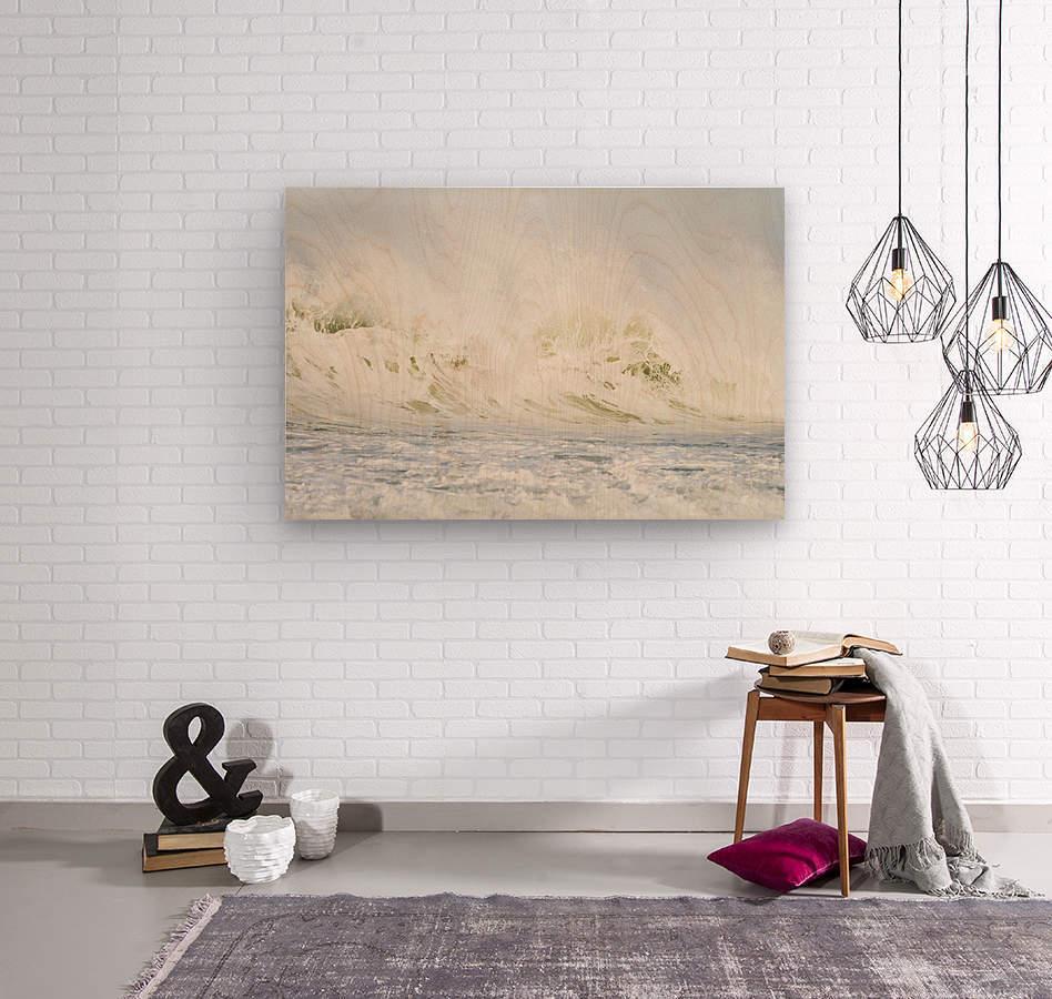 AVALANCHE  Wood print