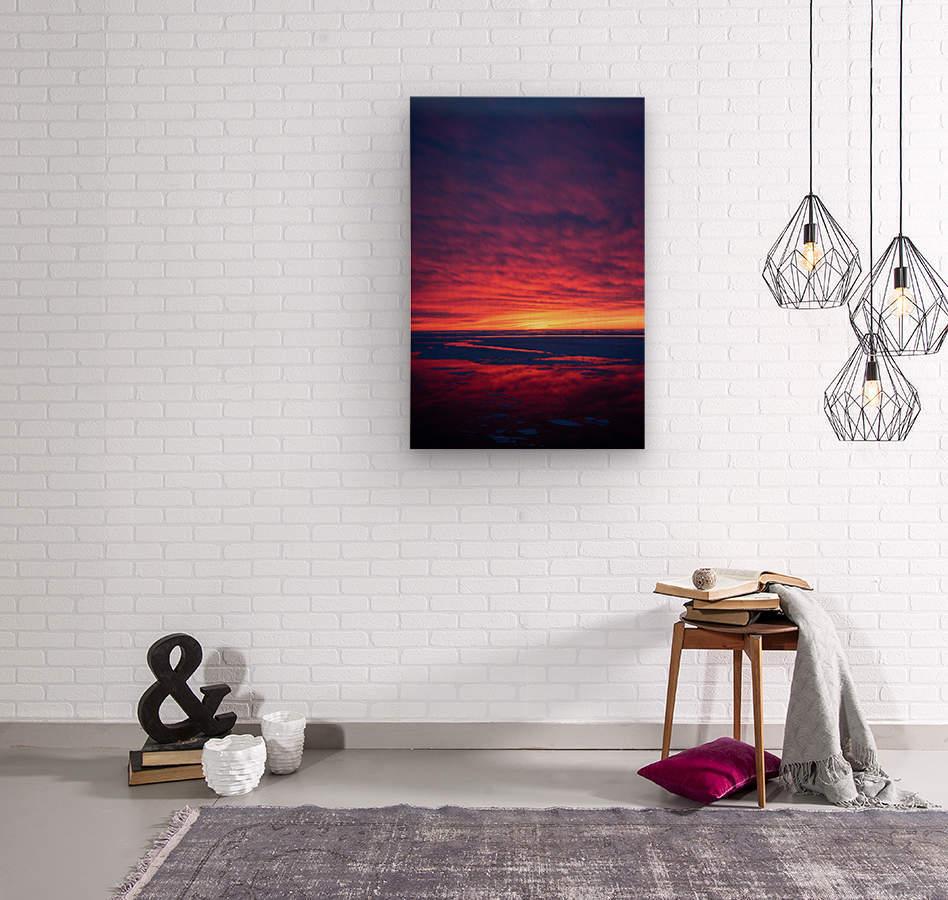 Rouge  Wood print