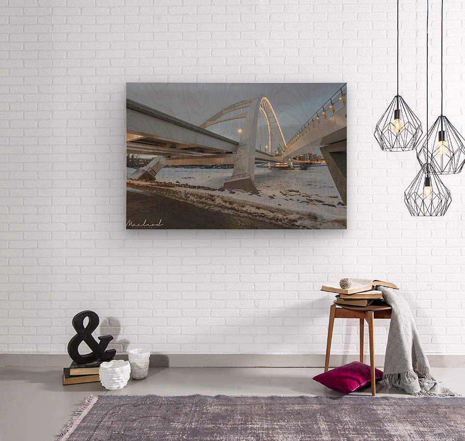 Walterdale_Bridge_NIK9885  Wood print
