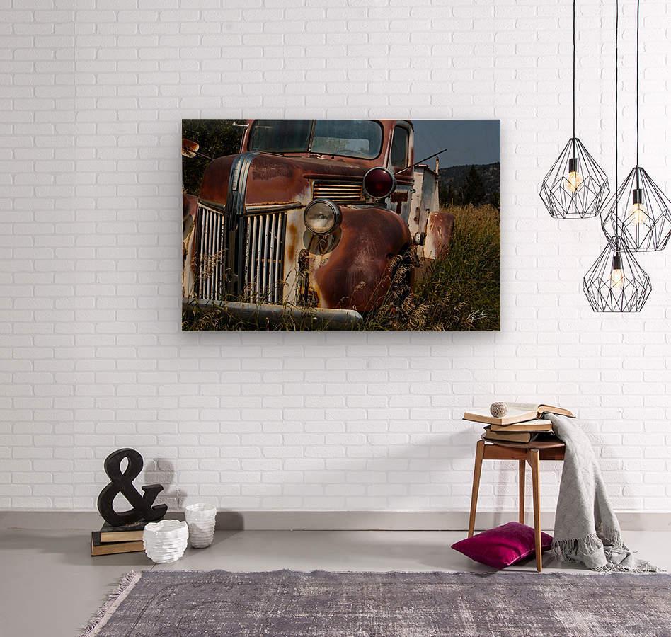 Ford Truck   Wood print