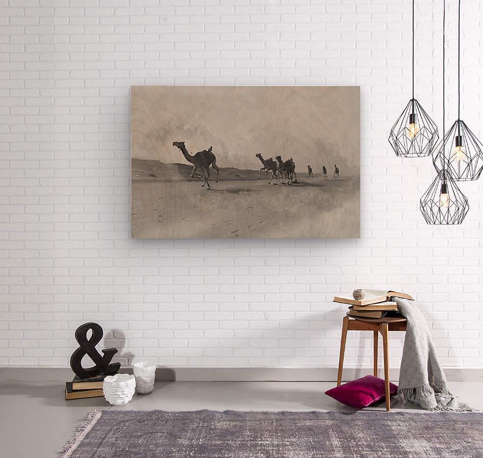 oman and traditional   Wood print