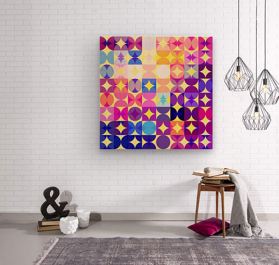 Geometric XXXVI  Wood print