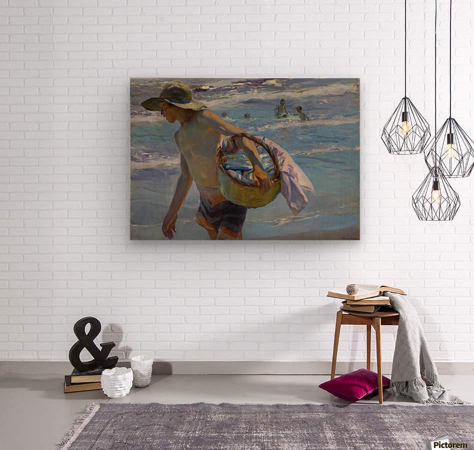 Pescador  Wood print