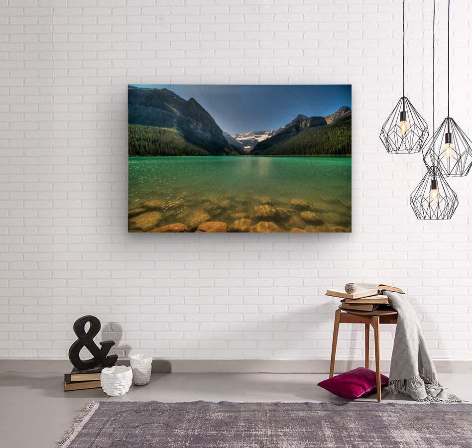 Banff  Wood print