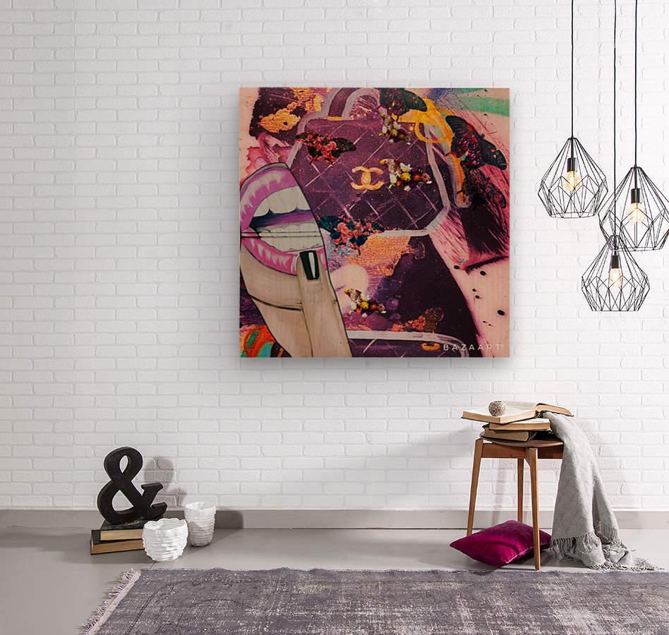 wetgwg  Wood print