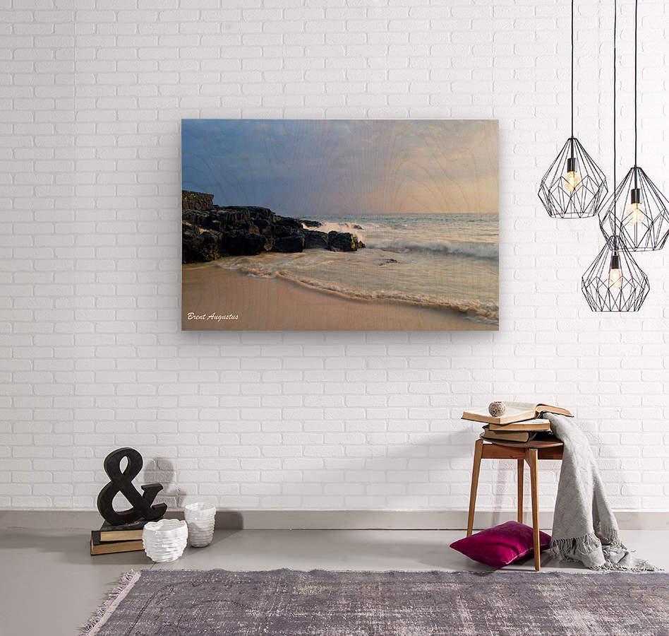 Magic Sands Sunset  Wood print