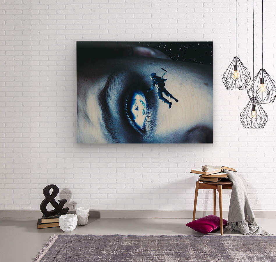 Lost In Your Eyes  Wood print