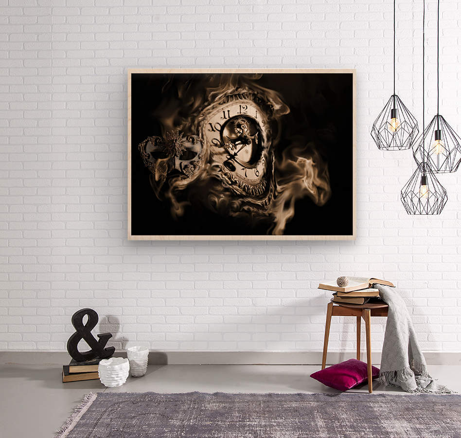 Father Time  Wood print