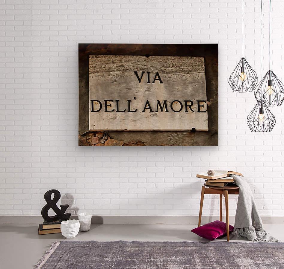 Via DellAmore  Wood print
