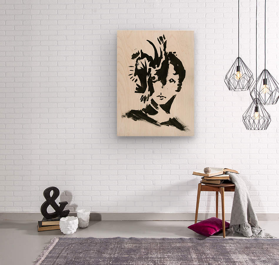 Keen Eye  Wood print