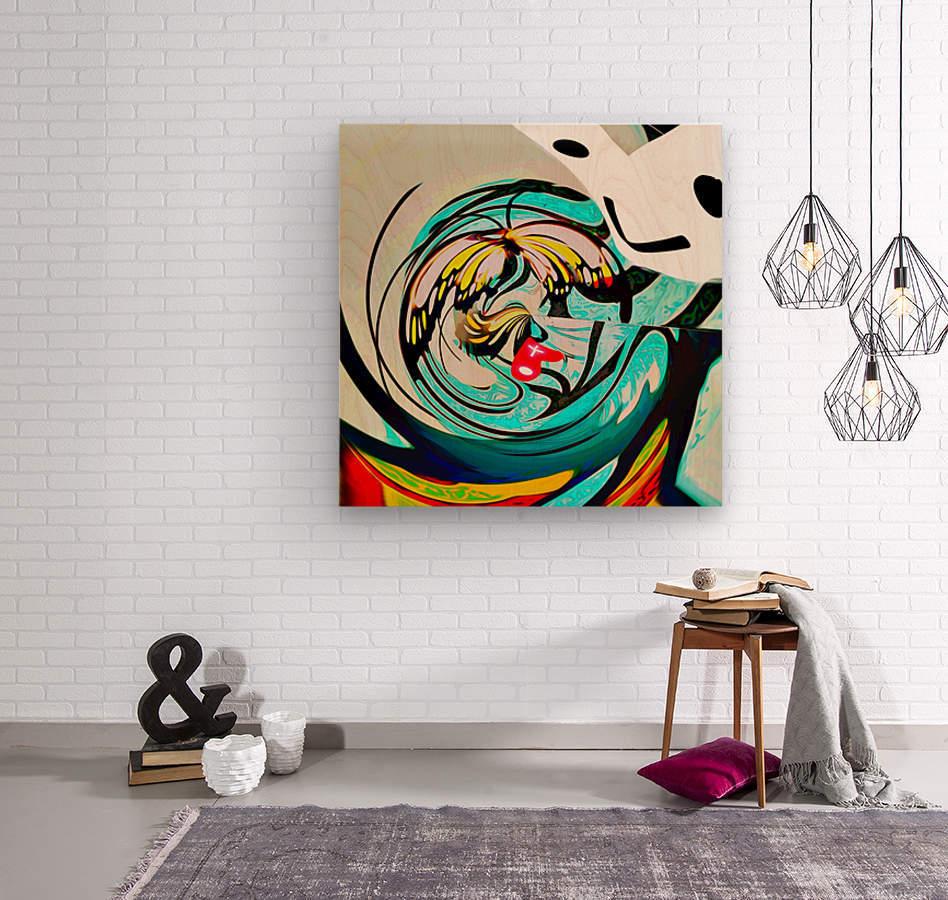 metamorphosis 2  Wood print