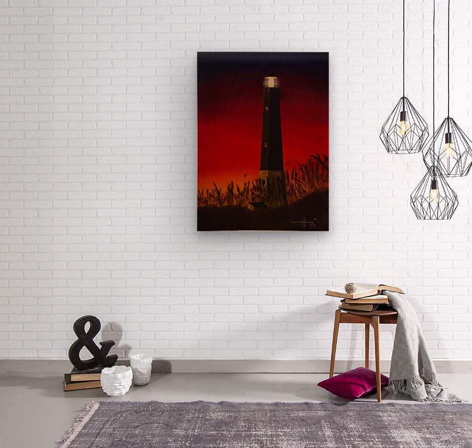 Light Too Bright  Wood print
