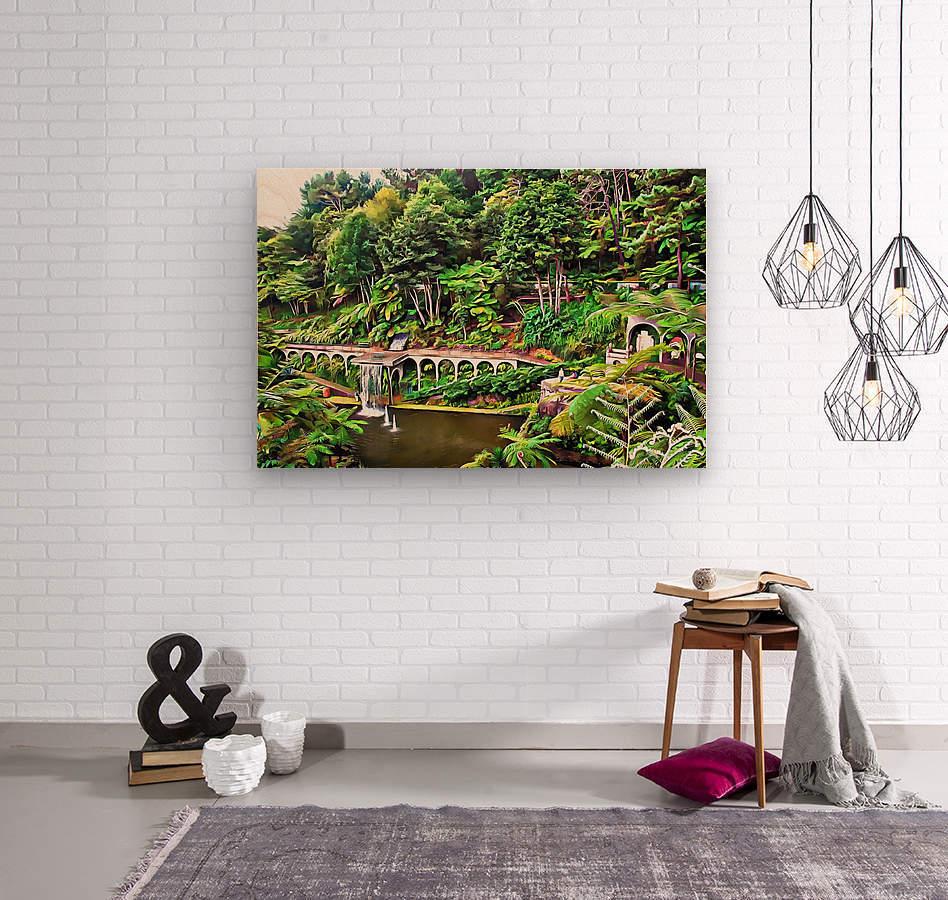 Jardim Tropical Monte Palace 5  Wood print