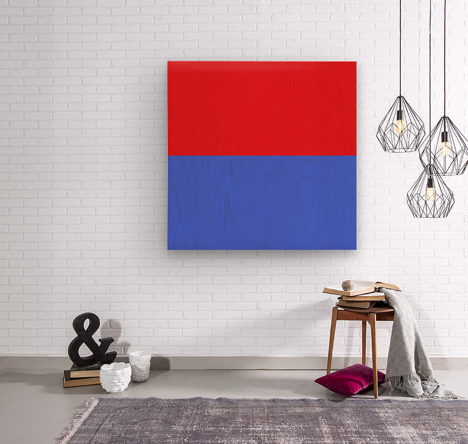 This is a beautiful design with great color, shape, line, texture, space and value.  (24)  Wood print