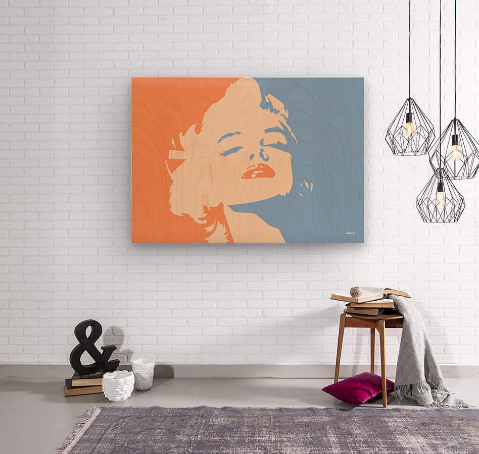 MM  Wood print