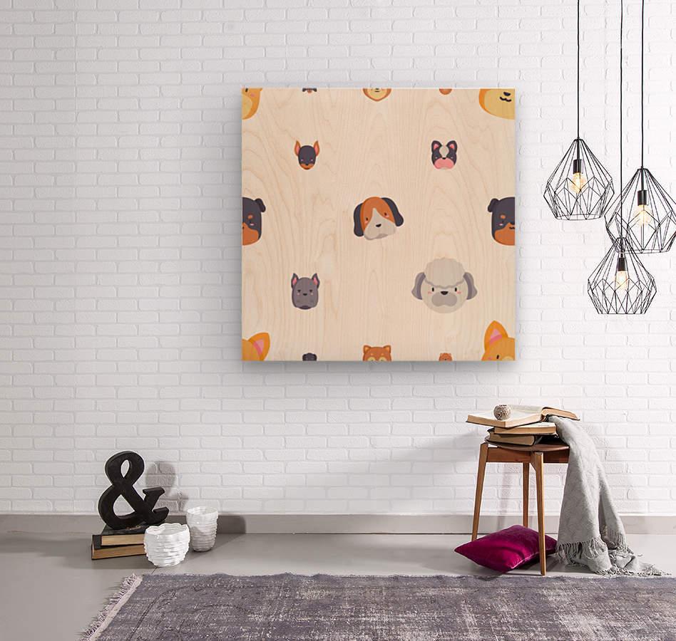 Dog (55)  Wood print