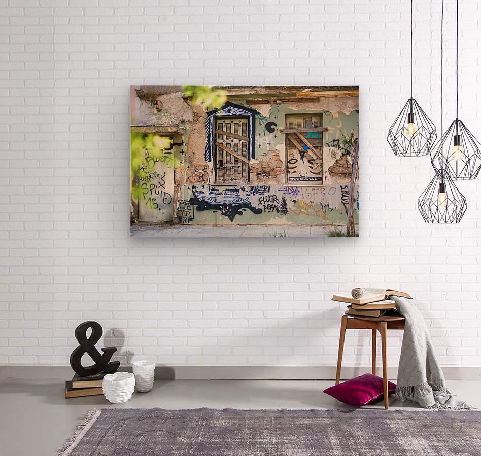 Doors & Windows 3  Wood print