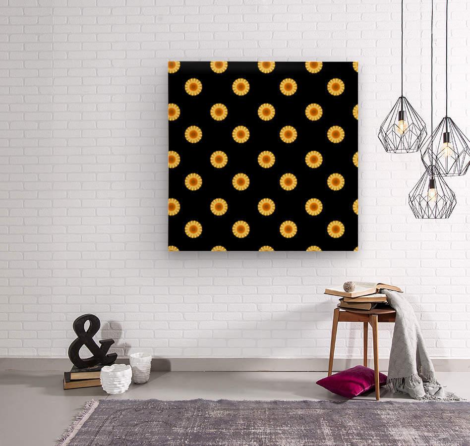 Sunflower (30)_1559875865.0546  Wood print
