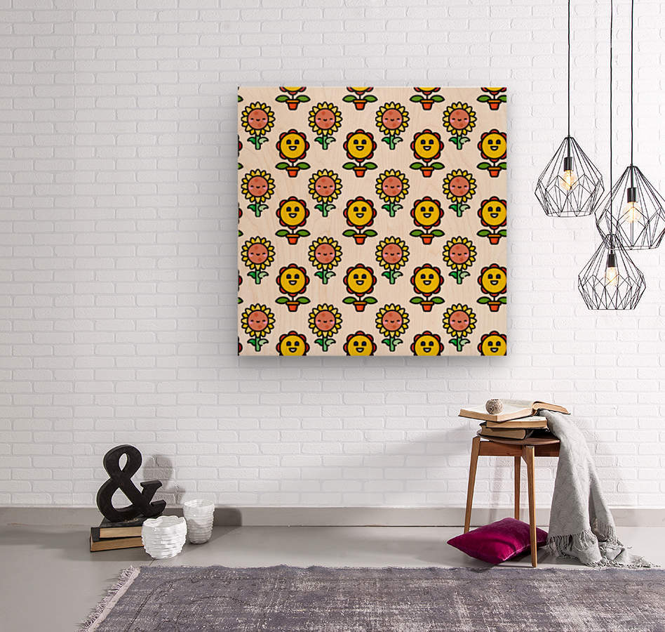 Sunflower_1559875866.8255  Wood print