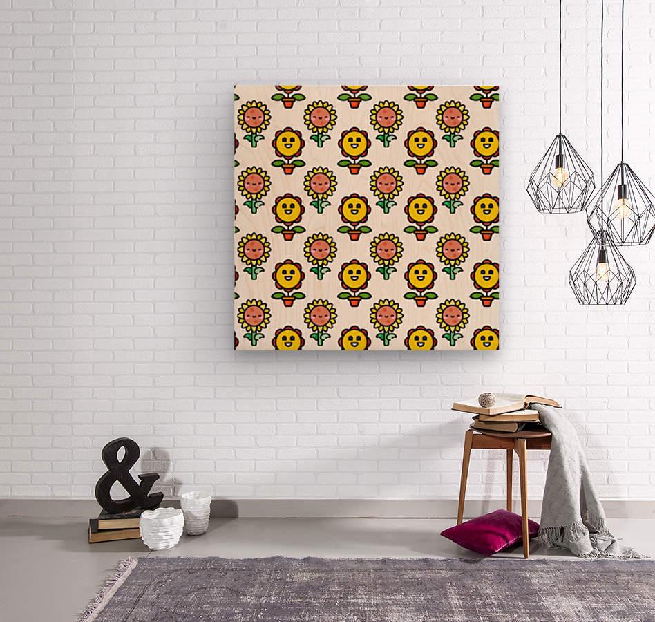 Sunflower_1559876174.8267  Wood print