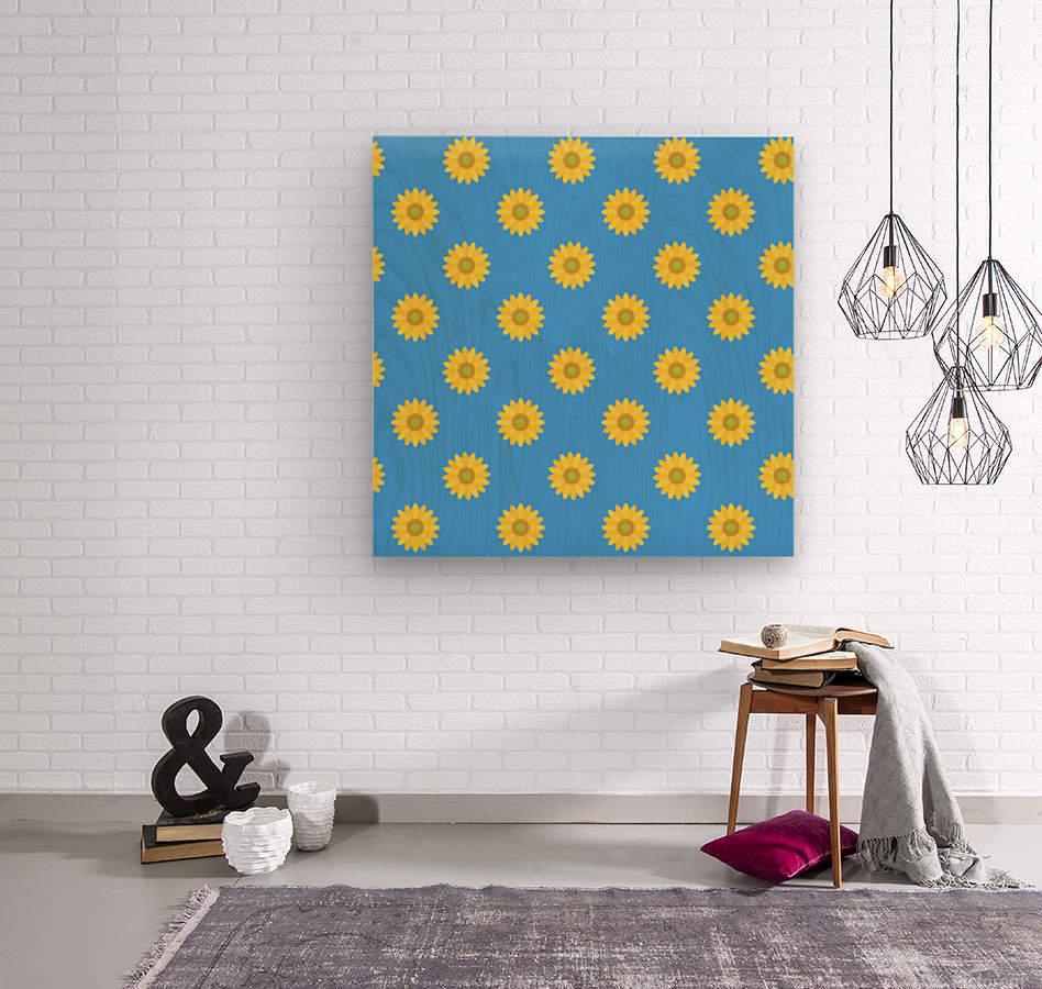 Sunflower (36)_1559876661.0675  Wood print