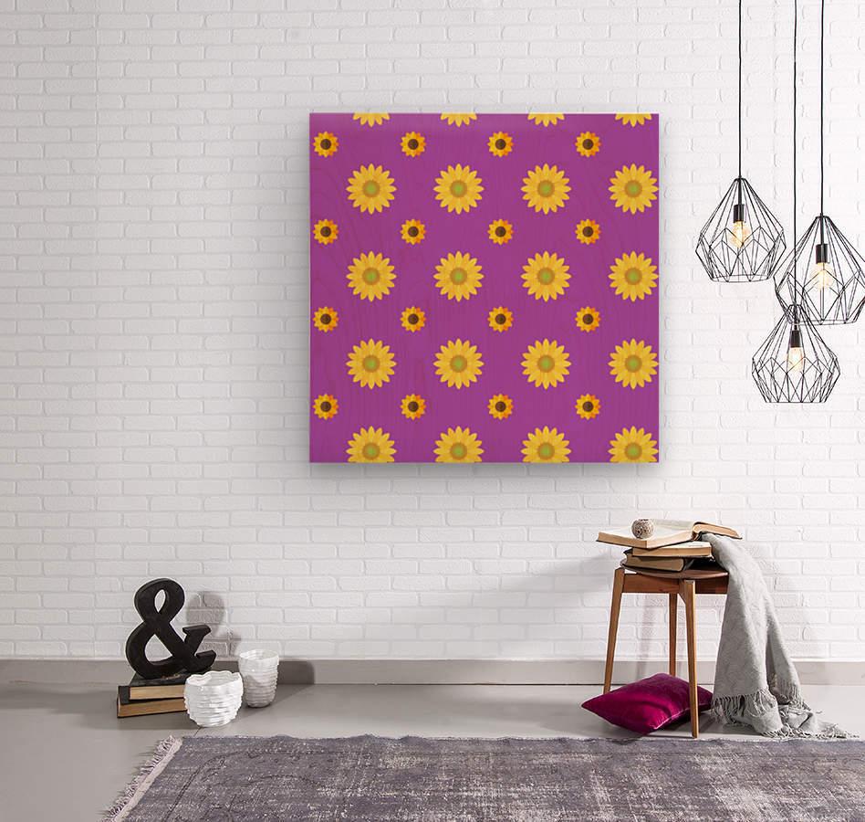 Sunflower (7)_1559876669.8225  Wood print