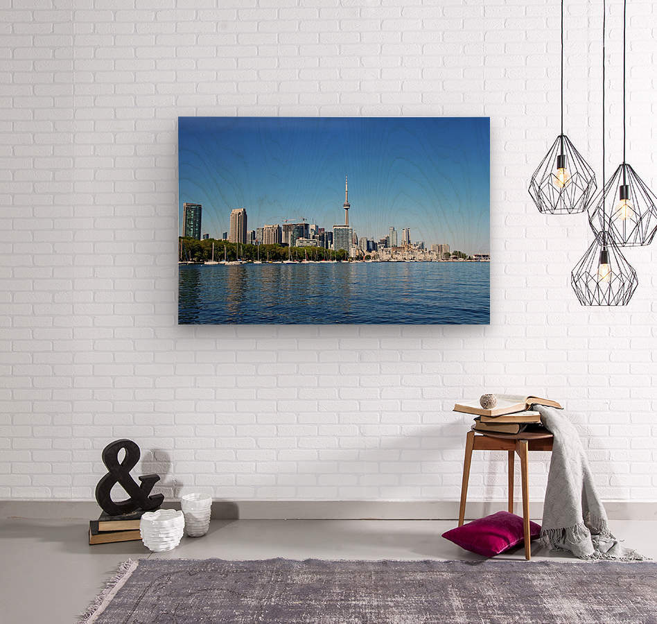 Toronto Harbourfront  Wood print