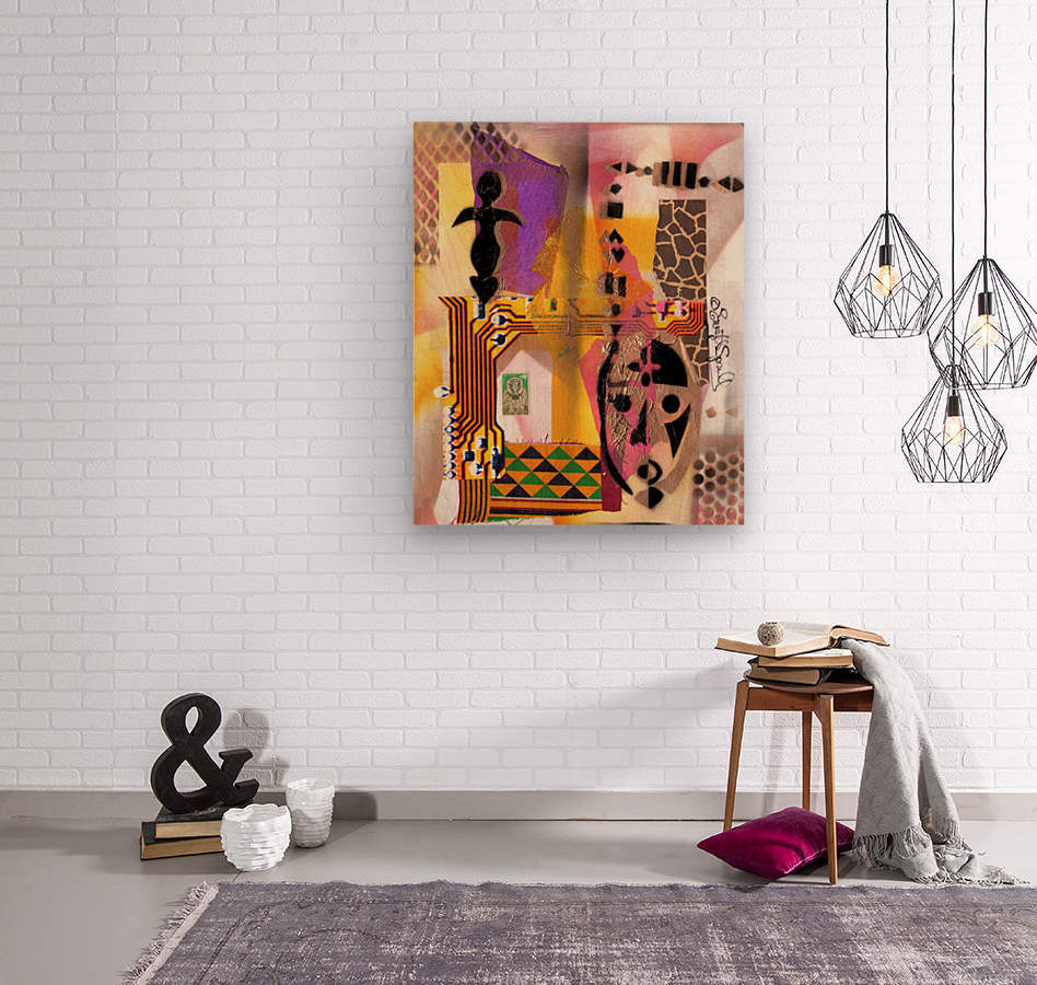 Cultural Remnant -A  Wood print