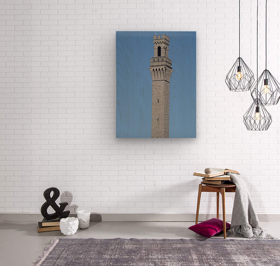Provincetown Monument - Massachusetts  Wood print