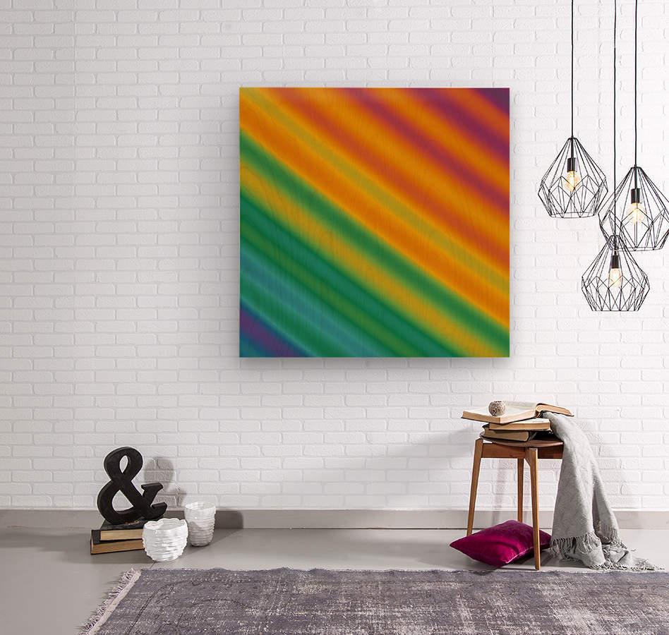 Abstract (48)  Wood print