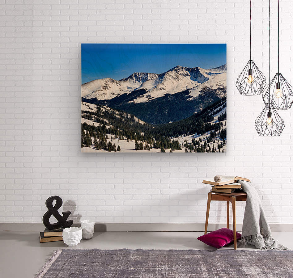 Copper Mountain  Wood print