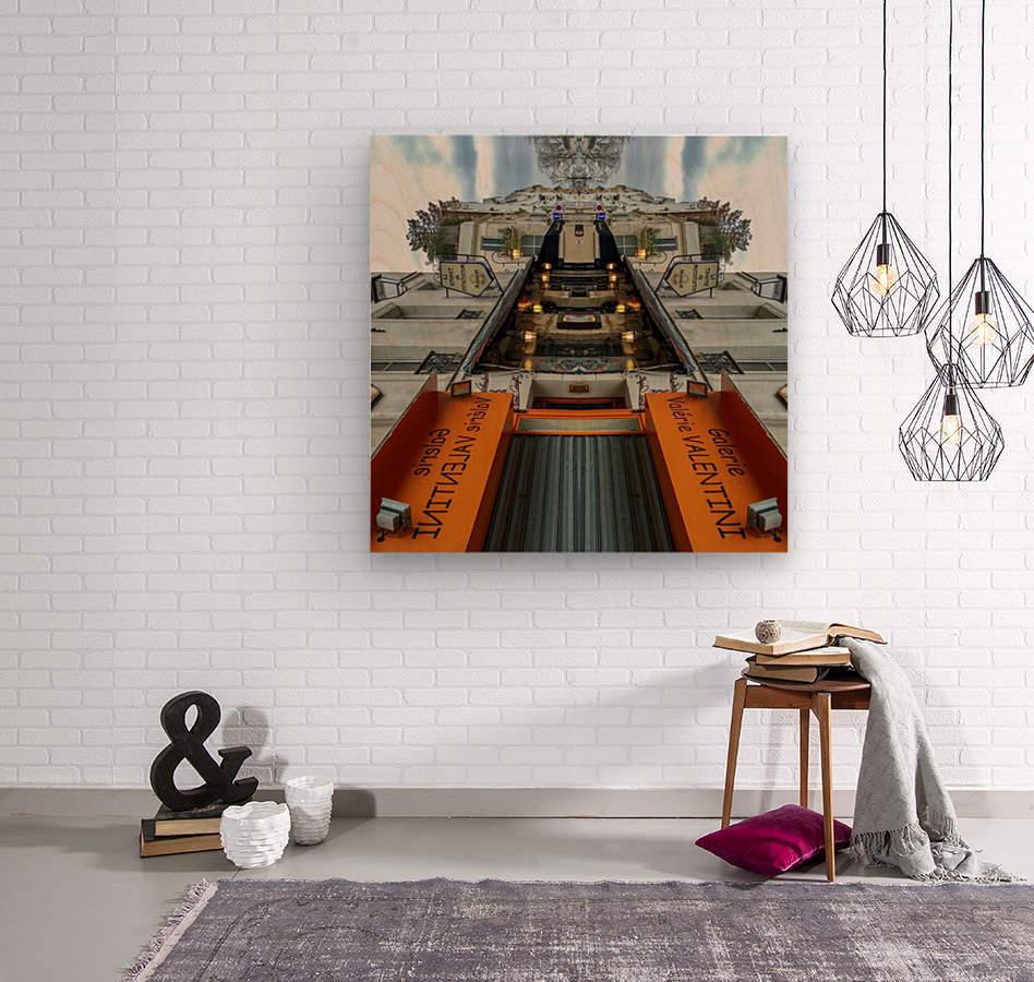 Paris - Rue Gabrielle  Wood print