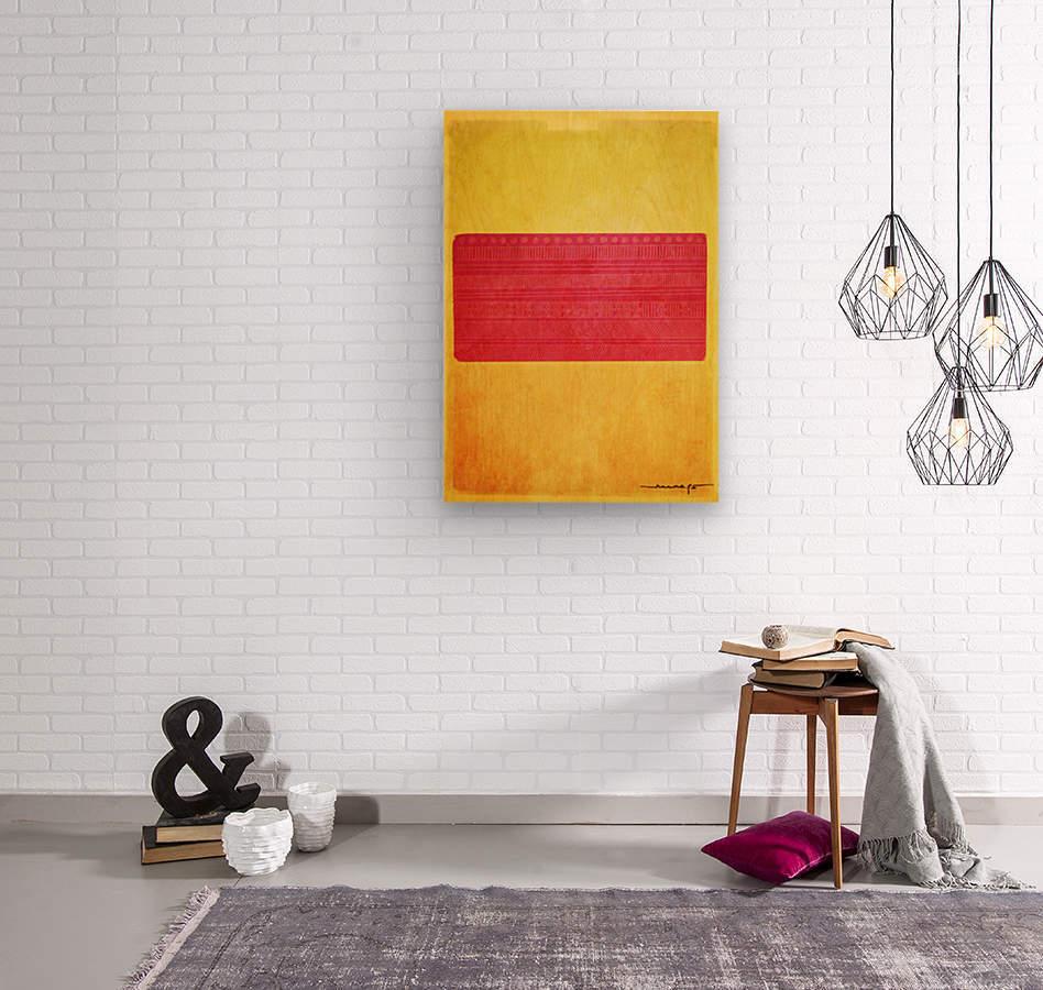 Redbox  Wood print