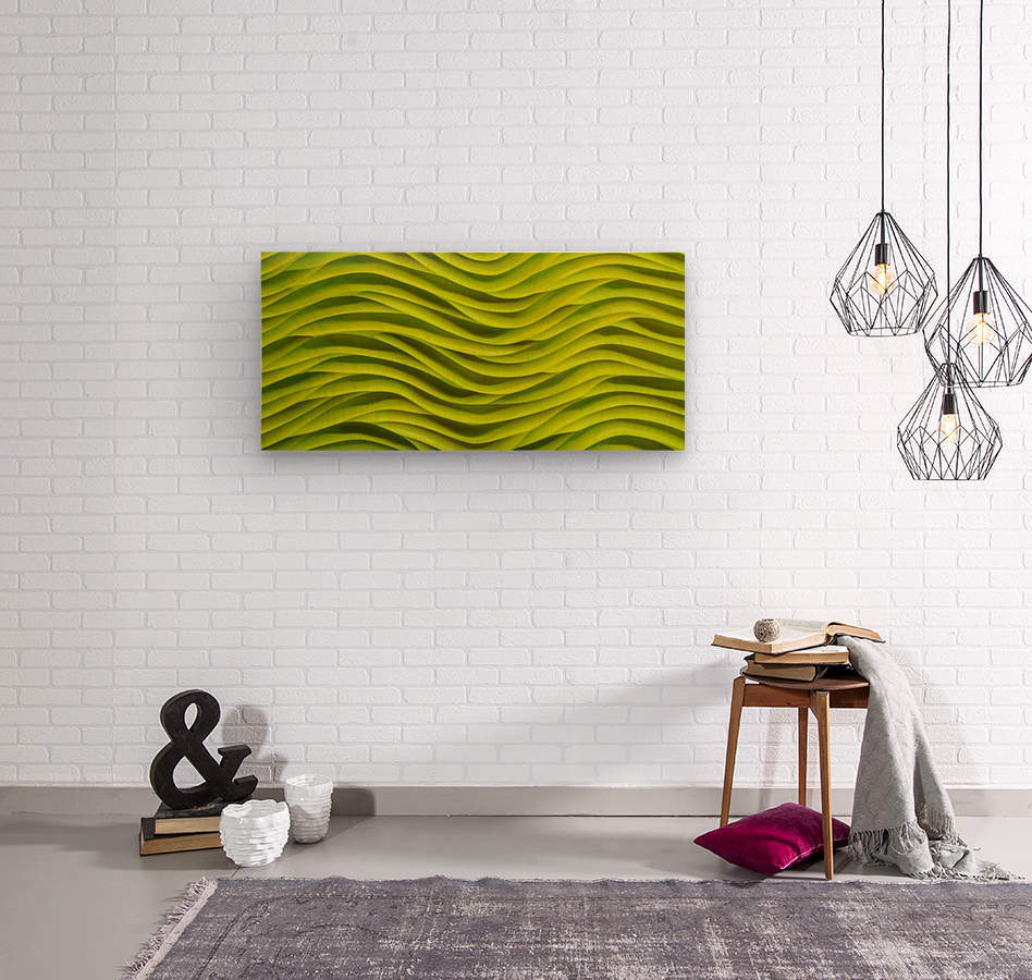 Sargasso  Wood print