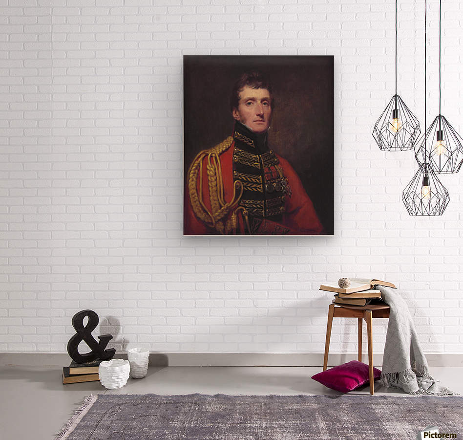 Lieutenant General William Stuart  Wood print
