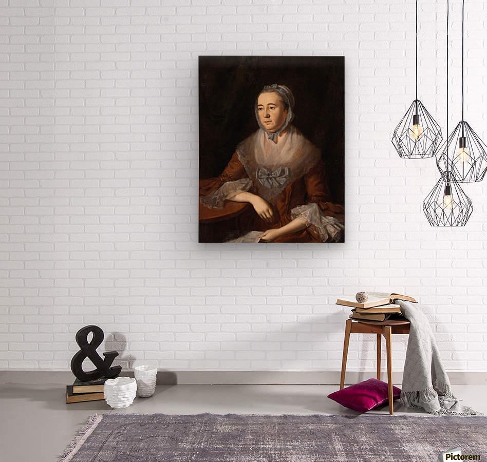 Anne Catherine  Wood print