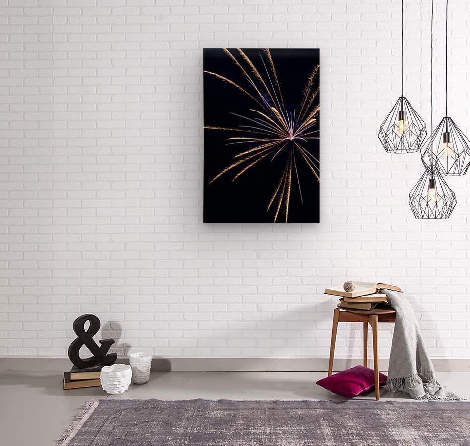 Fireworks 2019 24  Wood print