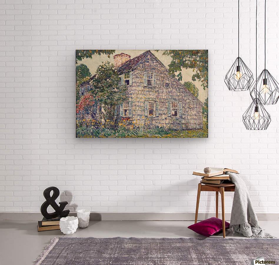 Hassam House  Wood print