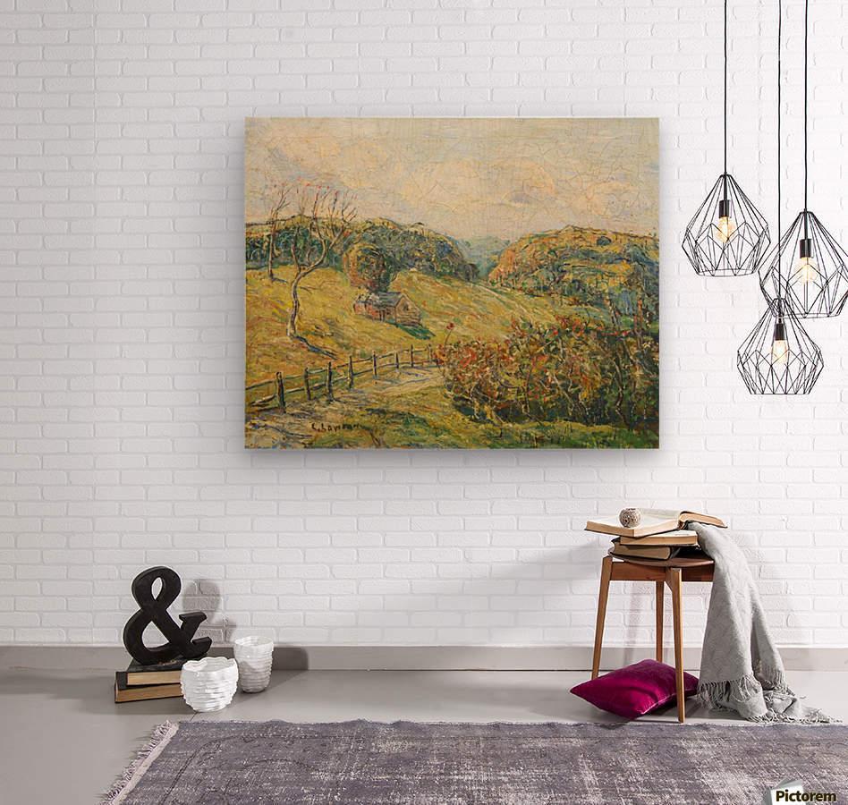 Summer Landscape  Wood print