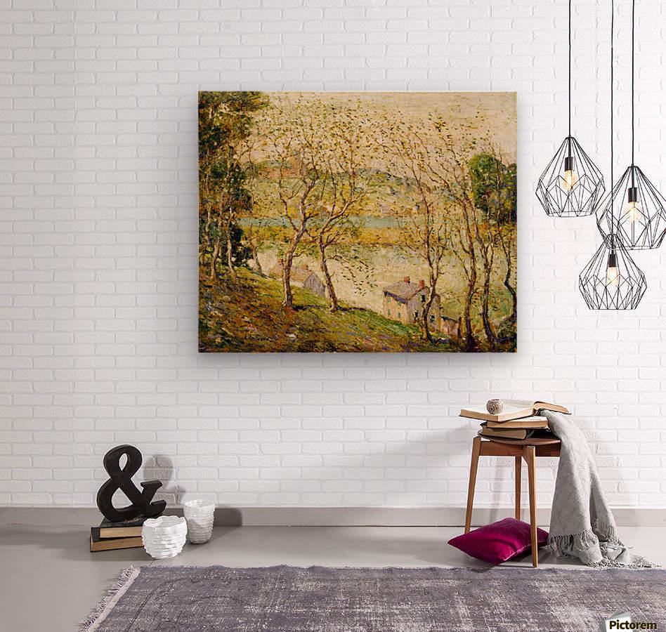 Springtime, Harlem River  Wood print