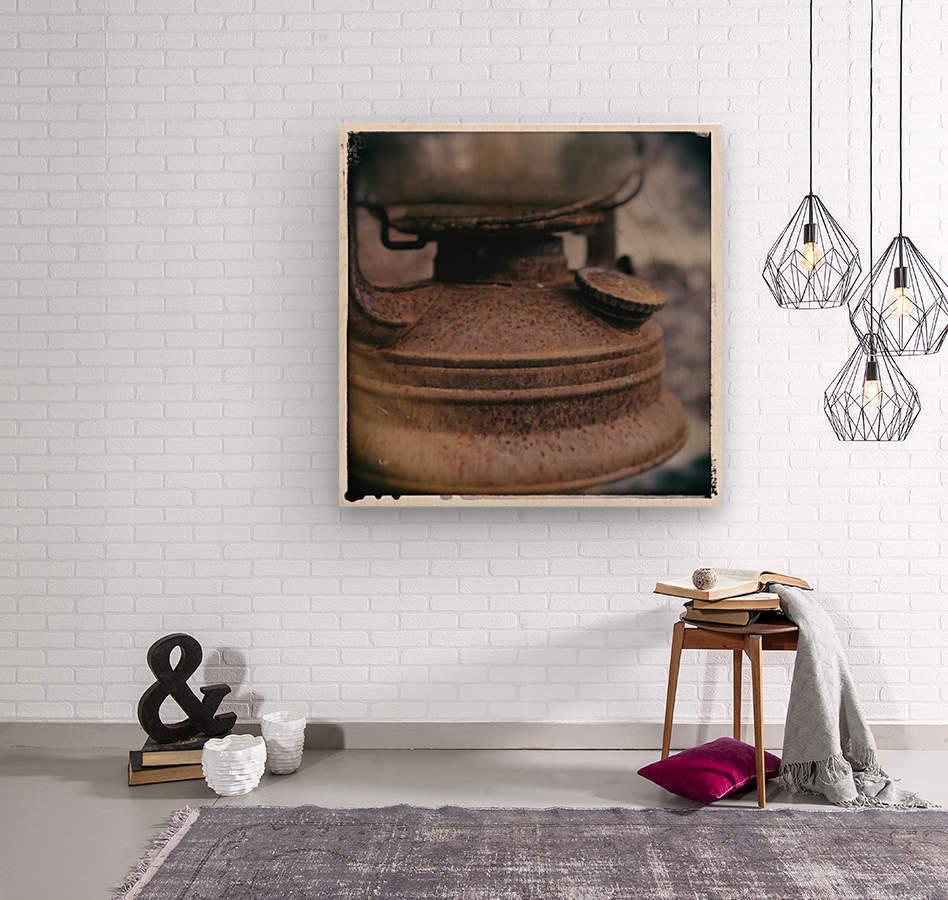 Rusted  Wood print