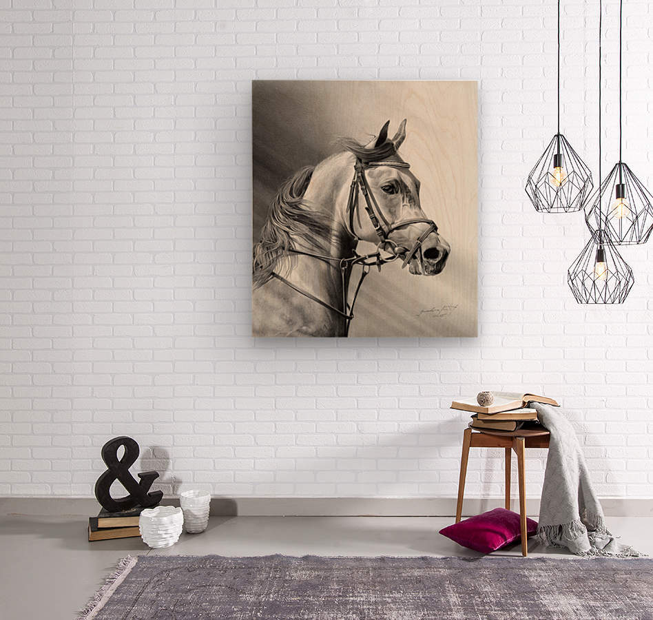 ARABIAN BEAUTY  Wood print