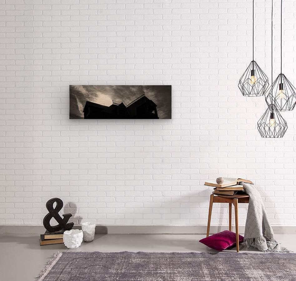 South Nashua Silhouette  Wood print