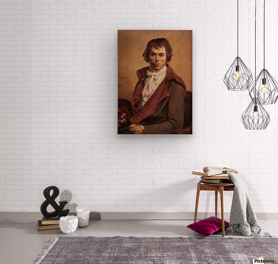 David Self Portrait  Wood print