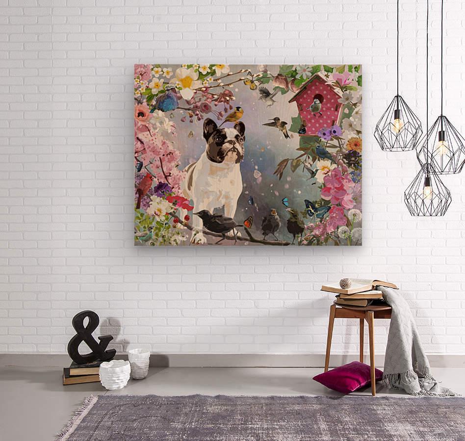 Olive Garden  Wood print