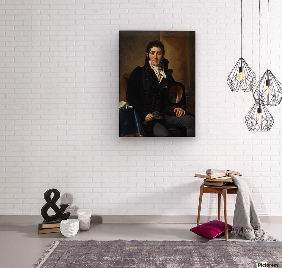 Portrait of Greve  Wood print
