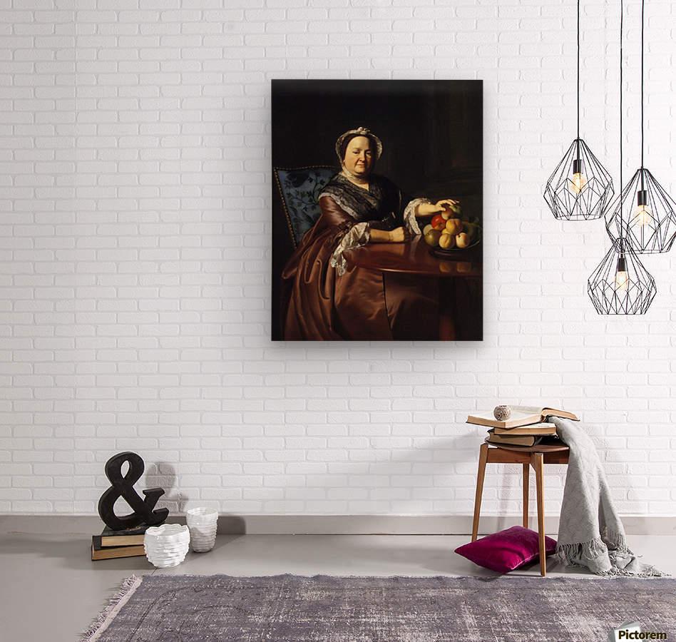 Mrs.Ezekiel  Wood print