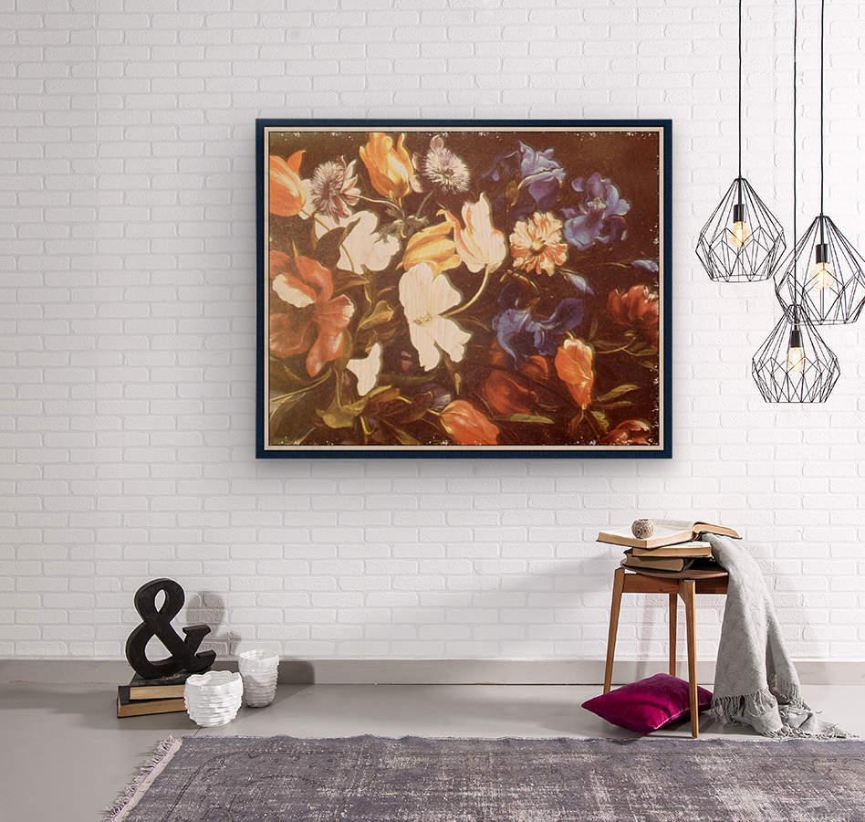 Brilliant Floral Display  Impression sur bois